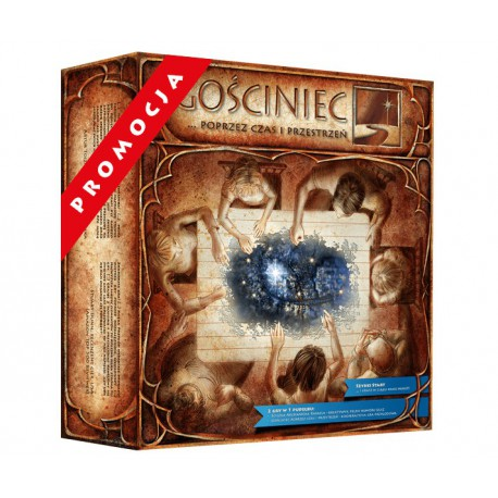 Gościniec… poprzez czas i przestrzeń i ścieżka Archanioła Rafaela (2 gry w 1 pudełku), II edycja